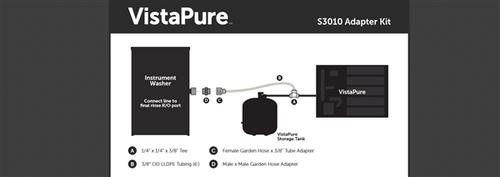 VistaPure Instrument Washer Adapter Kit