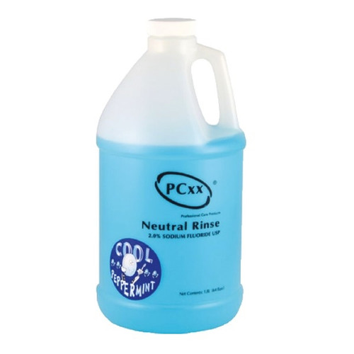 PCxx In-Office Neutral Fluoride Rinse 1.8L Cool Peppermint