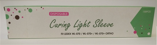 Curing Light Sleeves 100/box