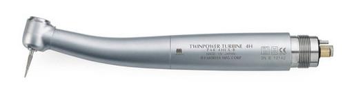 J Morita Highspeed Handpiece TwinPower Basic Air Turbine without Light PAR-4HEX-B (4-hole)