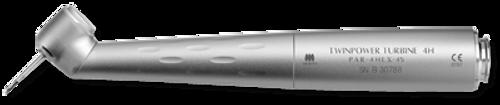 J Morita Highspeed Handpiece TwinPower 45 Air Turbine without Light PAR-4HEX-45 (Morita Couplings)