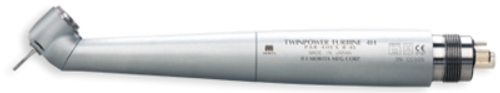 J Morita Highspeed Handpiece TwinPower 45 Basic (45°) Air Turbine without Light PAR-4HEX-B-45 (4-hole)