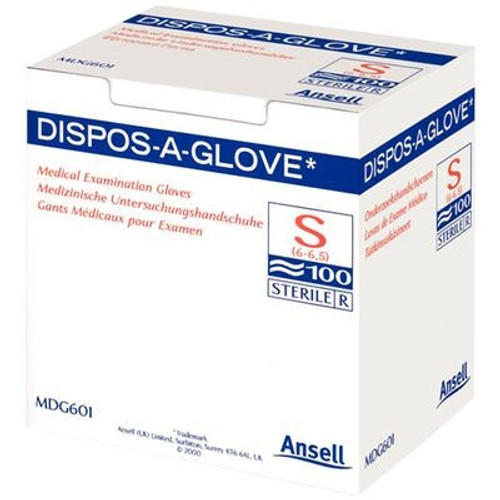 Ansell Dispos-A-Glove Sterile Large 100/box