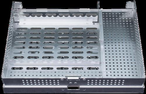 PDT FlipTop Cassette E Style, Standard Divider & Fixed Rack 15 Instrument