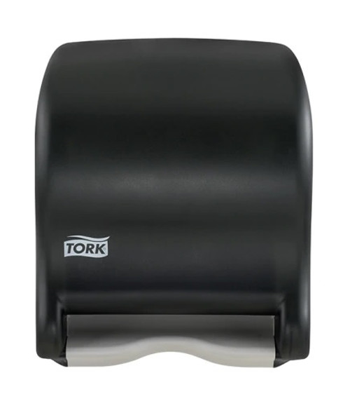 Tork Hand Towel Roll Dispenser, Electronic, Touch-Free Auto Transfer, Smoke Color