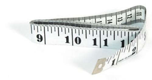 "Vinyl Height Measure, 60""/150 cm 12/bag"