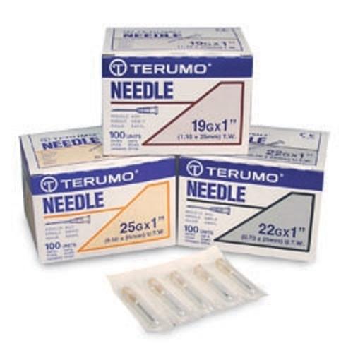 """Terumo Needle 25g x 7/8"""" 100/bx"""