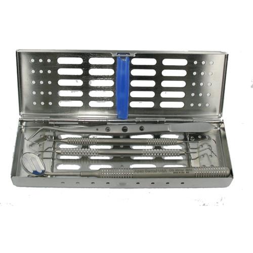 Valuemed Professional Instrument Cassette 5 Instrument Capacity - Blue