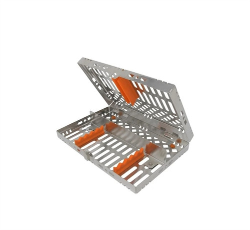 Valuemed Professional Instrument Cassette 5 Instrument Capacity - Orange