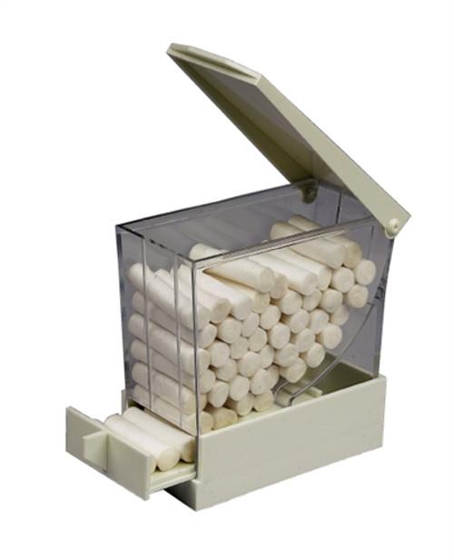 Zirc Deluxe Cotton Roll Dispenser White