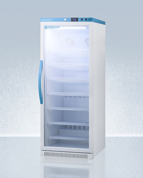 Accucold Pharma-Vac 12 Cu.Ft. Upright Glass Door Refrigerator