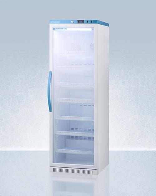 Accucold Pharma-Vac 15 Cu.Ft. Upright Glass Door Refrigerator
