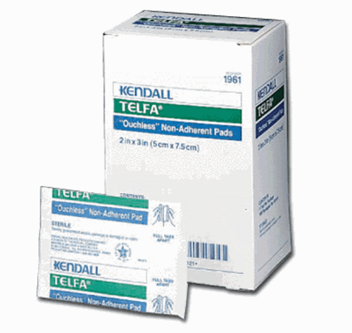 "Telfa Non-Adherent Pads Non-Sterile  8"" x 10"" 125/box"