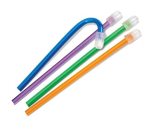 Practicon Total-Comfort ColorFlex Aspirators Green 100/bag