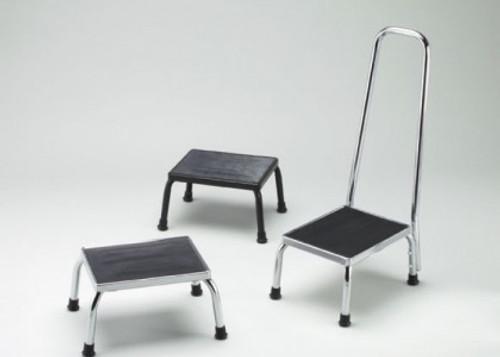Footstool Handrail, Chrome