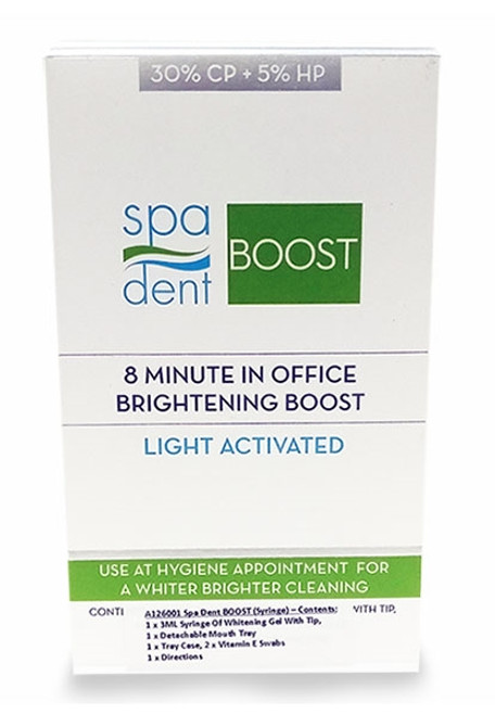 SpaDent In Office Boost 8 Minute Syringe Kit