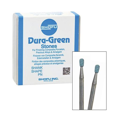Shofu Dura-Green Polishing Stones FG RD2 12/pkg