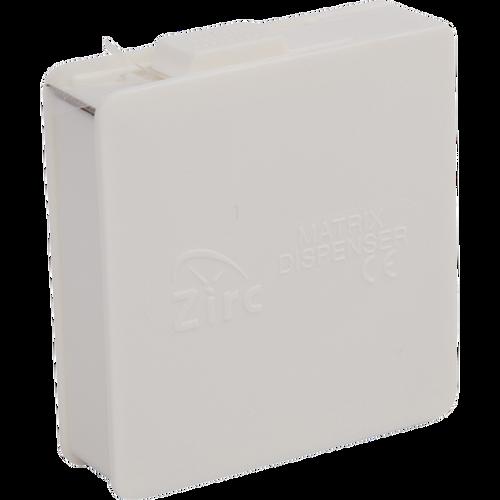 Zirc Matrix Dispenser, White