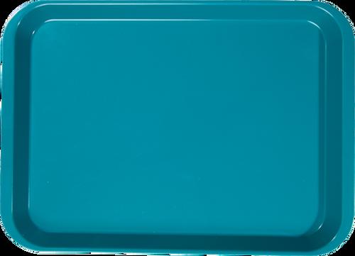 """B-Lok Instrument Flat Tray, Plastic, Ritter Size, 13-3/8"""" x 9-5/8"""" x 7/8"""" -  Teal"""