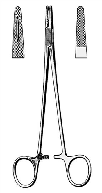 Mayo Hegar Needle Holder, 5 inch (12.7 cm) Elite Instrument