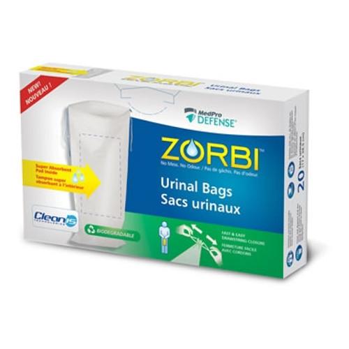 Zorbi Biodegradable Urinal Bag 20/ box