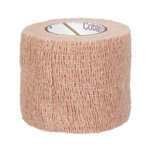 "3M Coban Latex Free Self-Adherent Wrap 2"" x 5yds, Tan Roll"