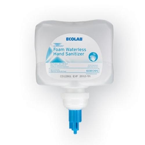 Ecolab Quik-Care Foam Hand Sanitizer 70% Alcohol, 1 Litre Dispenser Refill for Next Generation Dispensers