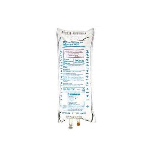 B. Braun Sterile Water USP 1000ml Bag