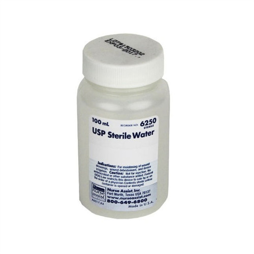 Sterile Water USP, 100ml Bottles 48/case