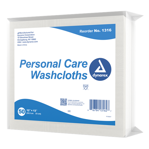 "Disposable Dry Washcloths 12"" x 13"" 50/bag"