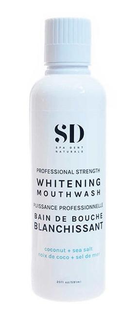 SpaDent Naturals Coconut & Seasalt Whitening Mouthwash 600ml
