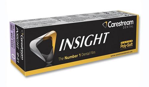 Kodak Carestream Insight Intraoral Film IP-01 Super Poly-Soft Packets, Size 0 Pedo, 100/box