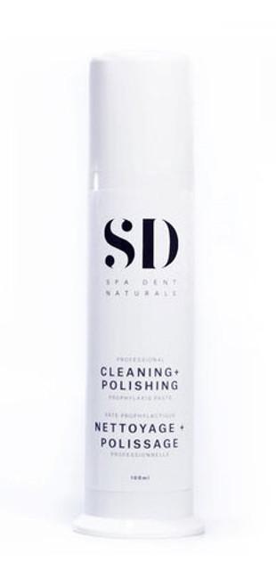 SpaDent Naturals Home Hygeine Cleaning & Polishing Paste 100g pump