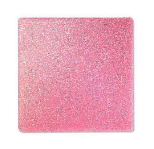 """Keystone Pro-Form Glitter Guard Laminate 0.160 Pink 5""""x5"""", 6/pkg"""