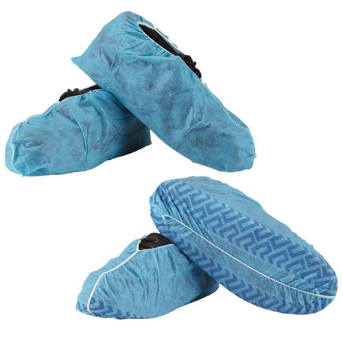Shoe Covers Non Skid, Blue, XL, 100/bag