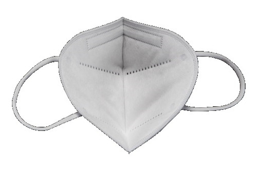 KN95 mask earloop are one size fits most and made of high density non woven fabric