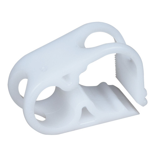 White Tubing Clamp Disposable 100/case