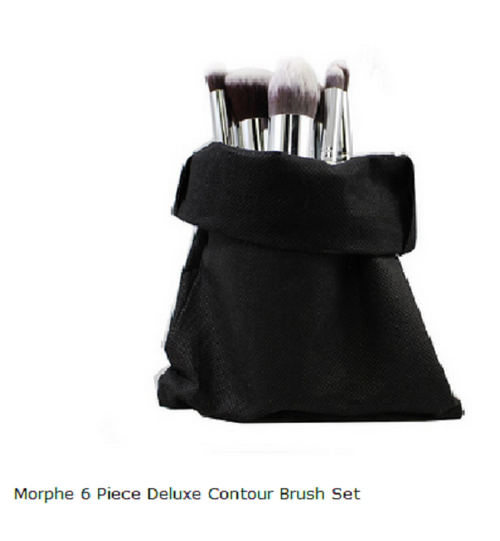 Morphe 6 Piece Deluxe Contour Brush Set