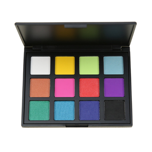 NEW 12 Color Pop Natural Glow Eye Shadow Palette