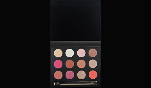 12 Color Matte and Shimmer Eye Shadow Palette + Double Ended Brush 01
