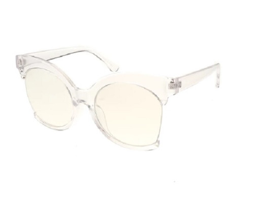 Over Sized Fashion Women's Glasses  - Clear Frame
