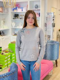 Multi Color Star Sweater TMK1222