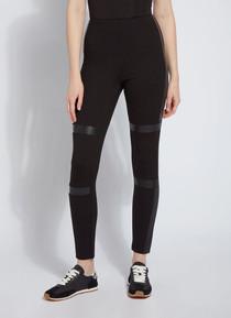 Cool Trim Leather Legging