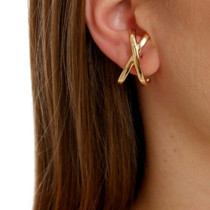 Crisscross Hug Earrings