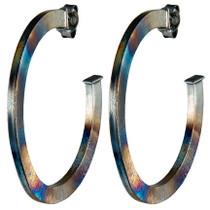 Elisa Hoop Earrings - Burnished