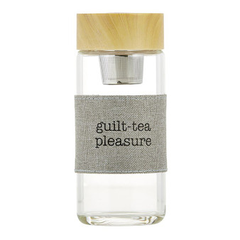 WATER BOTTLE TEA INFUSER - GUILT-TEA PLEASURE