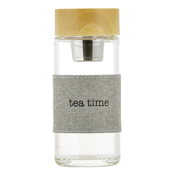 WATER BOTTLE TEA INFUSER - TEA TIME