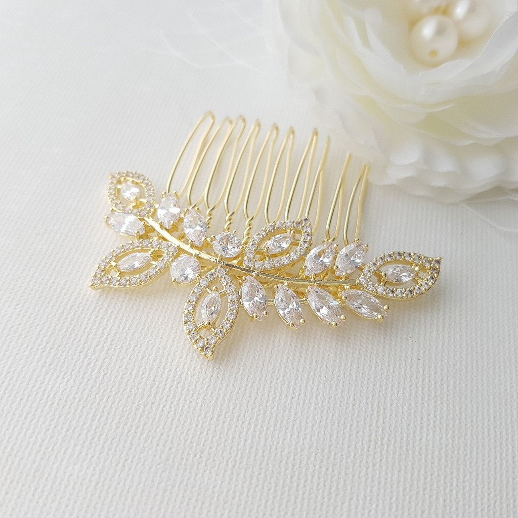 Gold Leaf Haircomb– Kerry