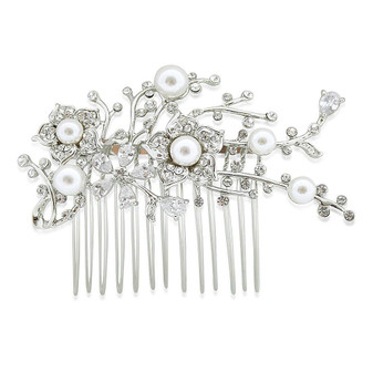 Crystal Bridal Haircomb for Brides