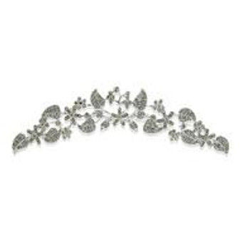 Wear it as it Suits your Style, Wear it as Silver Wedding Tiara or Hair Comb
